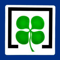 Logotipo alta calidad en resina Lotería Bonoloto
