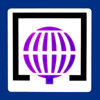Logotipo alta calidad en resina Lotería Nacional