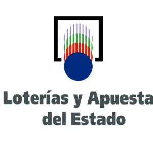 Pegatina Loterías y Apuestas de Estado - Mostrador